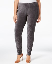 Styleandco. Style Co. Plus Size Corduroy Leggings Only At Macy's Carbon Grey