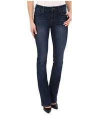 Liverpool Logan Hugger Contour 4 Way Stretch Denim Bootcut Jeans In Orion Medium Dark Indigo Orion Medium Dark Indigo Women's Jeans Blue