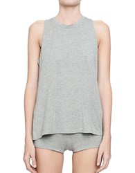 Candc California Heather Tank Top Grey