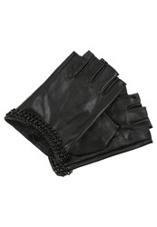 Karl Lagerfeld Fingerless Gloves Black Black