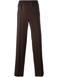 Givenchy Straight Leg Trousers Yellow And Orange