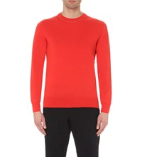 Dries Van Noten Jarich Wool And Cotton Blend Jumper Cor