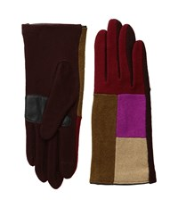 Echo Touch Color Block Gloves Pomegranate Extreme Cold Weather Gloves Pink