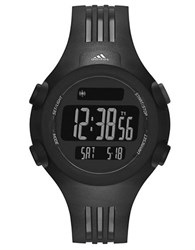 Adidas Mens Questra Matte Black Digital Chronograph Sport Watch