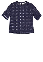 Ivy And Oak Blouse Midnight Blue Dark Blue