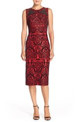 Women's Eci Flecked Scuba Sheath Dress