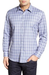 Men's Zagiri 'Black Velvet' Regular Fit Plaid Sport Shirt