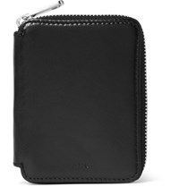 A.P.C. Gregoire Leather Wallet Black