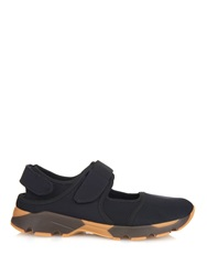 Marni Neoprene Cut Out Trainers