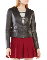 Bcbgmaxazria Cruz Long Sleeve Jacket Black