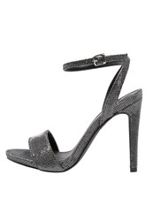 Evenandodd High Heeled Sandals Silver