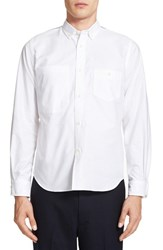 Junya Watanabe Men's Contrast Yoke Oxford Shirt