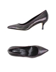Bryan Blake Pumps Dark Purple