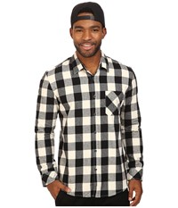 Quiksilver Motherfly Flannel Black Men's Clothing