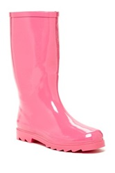 West Blvd Shoes Mid Calf Rain Boot Pink