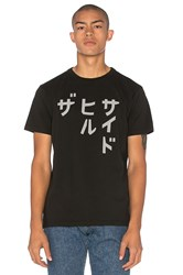 The Hill Side Katakana Tee Black