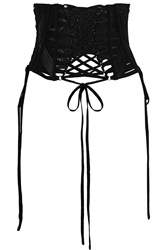 Dolce And Gabbana Lace Up Faille Belt