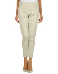 European Culture Casual Pants Beige