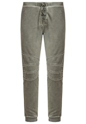 True Religion Tracksuit Bottoms Olive Pink