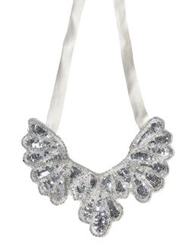 Angelina Folies Necklaces White