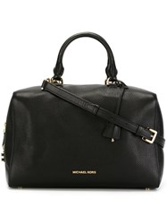 Michael Michael Kors Large 'Kirby' Satchel Black