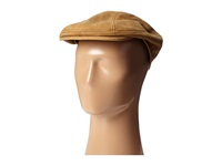 Distressed Leather Ivy Cap Brown Caps