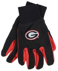 Forever Collectibles Georgia Bulldogs Palm Gloves