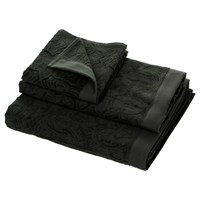 Roberto Cavalli Logo Towel Dark Grey 925 Bath Sheet