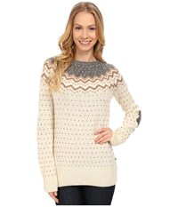 Fjall Raven Vik Knit Sweater Sand Women's Sweater Beige