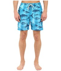 Tommy Bahama Naples Schools Out Swim Trunk Como Blue Men's Swimwear
