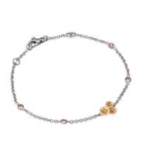 Theo Fennell Pink Sapphire And Diamond Hibiscus Tryst Bracelet