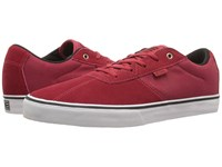 Etnies Scam Vulc Red White Black Men's Skate Shoes