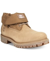 Timberland Men's Roll Top Boots Men's Shoes Tan