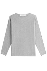 Max Mara Virgin Wool Pullover With Cashmere Grey