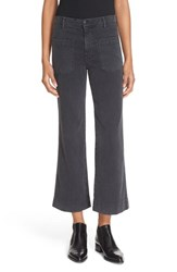 The Great Women's 'The Mariner' High Rise Crop Flare Pants