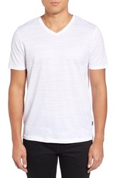 Boss Men's Tilson 50 V Neck T Shirt White