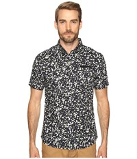 7 Diamonds Breath Of Air Short Sleeve Shirt Midnight Men's Short Sleeve Button Up Navy