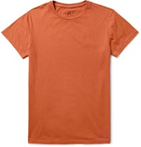 Rrl Cotton Jerey T Hirt Orange