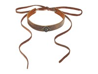 Leather Rock N223 Tobacco Necklace Brown