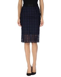 Sea New York Skirts Knee Length Skirts Women Dark Blue