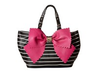 Betsey Johnson Knot Your Average Tobo Fuchsia Hobo Handbags Pink