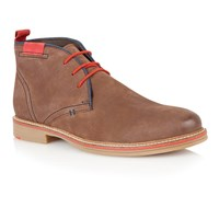 Lotus Holbeton Lace Up Casual Desert Boots Brown