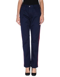 Zadig And Voltaire Casual Pants Dark Blue