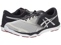 Asics 33 Dfa Vanilla Ice Silver Deep Ruby Men's Running Shoes White