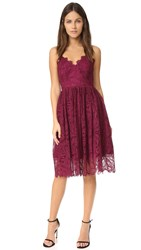 Zac Posen Viola Dress Wine