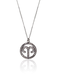 Laura Lee Jewellery Silver Diamond Aries Necklace