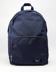 Original Penguin Backpack With All Over Print Blue
