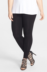 Sejour Leggings Plus Size Black