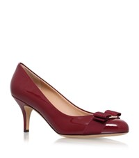 Salvatore Ferragamo Carla Court Shoes 70 Female Wine