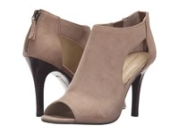 Adrienne Vittadini Genia Canapa Kid Suede Women's Shoes Tan